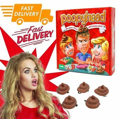 Identity Games Poopyhead Card Game Hilarious Family Party Fun Board Game For Kid