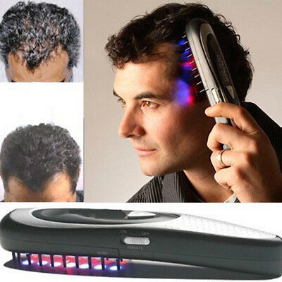 Hair Laser Comb Loss Brush Grow Treatment Growth Therapy  Kit Regrowth Hot Sale