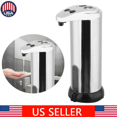 Hands Free Automatic Stainless Steel Soap Shampoo Dispenser