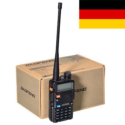 New Baofeng UV-5R Dual-Band Two-way Radio VHF/UHF 136-174/400-520MHz FM Ham EU