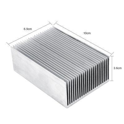 5x Large Big Aluminum Heatsink Heat Sink Radiator Fled High Power Amplifier Amp