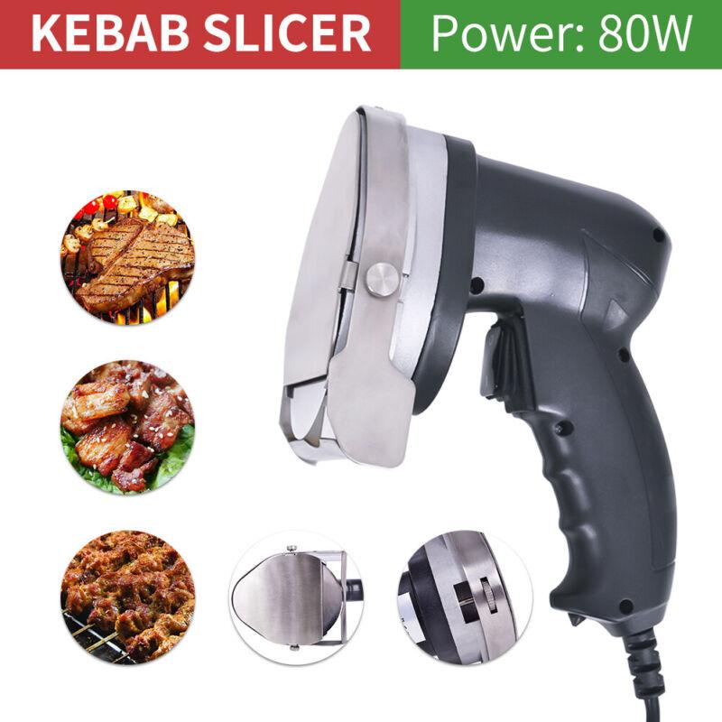 Portable Electric Kebab Shawarma Gyros Machine Meat Cutter Doner Cutlery Slicer