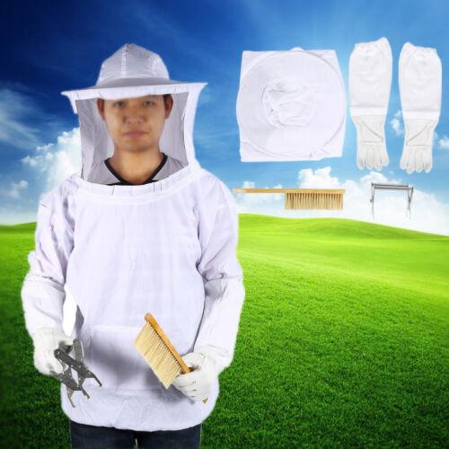 Imker Imkerjacke Imkeranzug Beekeeper Schutzanzug Bienenschutz Hut Schleier Set