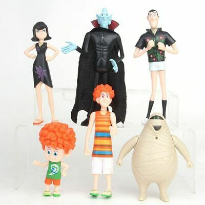 6PCS/Set Hotel Transylvania3 Toy Doll Model Action Figure Decoration Gifts US