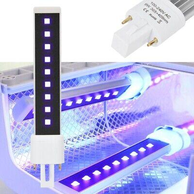 Rotable 365 + 405nm LED/UV Dual Light Source Nail Gel Curing
