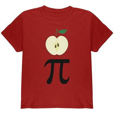 Halloween Math Pi Costume Apple Day Youth T Shirt (Halloween Math)