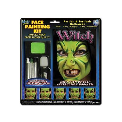 Wolfe FX Witch Face Painting