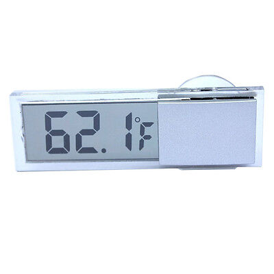 Osculum Type Lcd Vehicle Mounted Digital Thermometer Celsius Fahrenheit T1