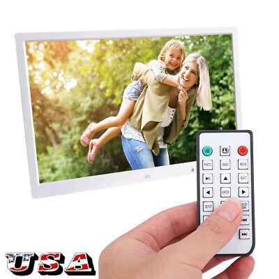 "17"" HDMI Movie Player Digital Photo Frame Album Touch Button w/ Remote Control"