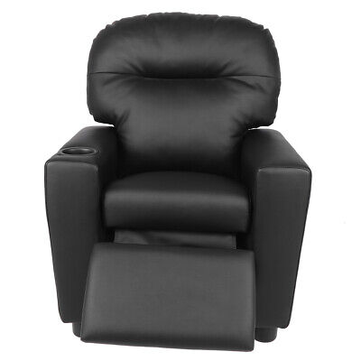 Modern Single Recliner Armchair Upholstered Sofa Lounge Chair 50kg Load-bearing