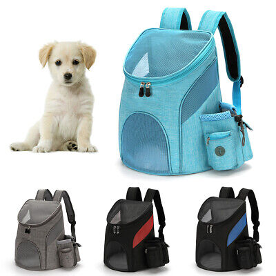 Pet Portable Carrier Backpack Travel Dog Cat Puppy Bag Comfort Mesh Carry Pack Carriers & Totes