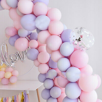 18inch Big Round Latex Balloon Macaroon Color Wedding Birthday Party Decor Amid - Big Round Balloons