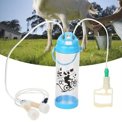 Goat Sheep Cow Portable Milking Machine Electric Milker With Double Head