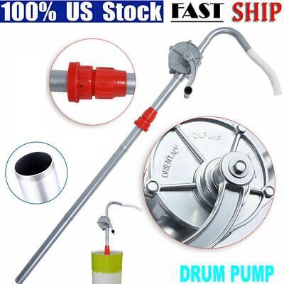 Hand Rotary Barrel Pump 55 Gallonmanual Crank Drum Fuel Gas Oil Transfer Pump
