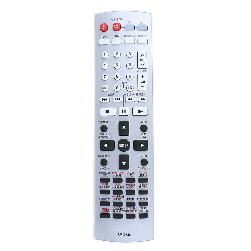 Remote Control Replacement for Panasonic EUR7722X10 DVD Home