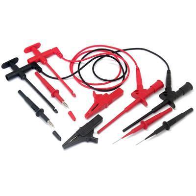 Aidetek Automotive Test Lead Insulation Piercing Test Clip For Fluke Tlp20163 Us