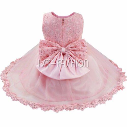 Mädchen Kleid Baby Taufe Festkleid Hochzeit Sommerkleid 56