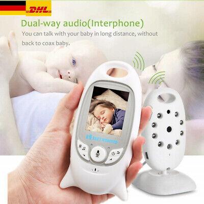 Digitale Video-babyphone (Digital Wireless Babyphone mit Kamera Farbe babyfone Video Monitor Nachtsicht DE)