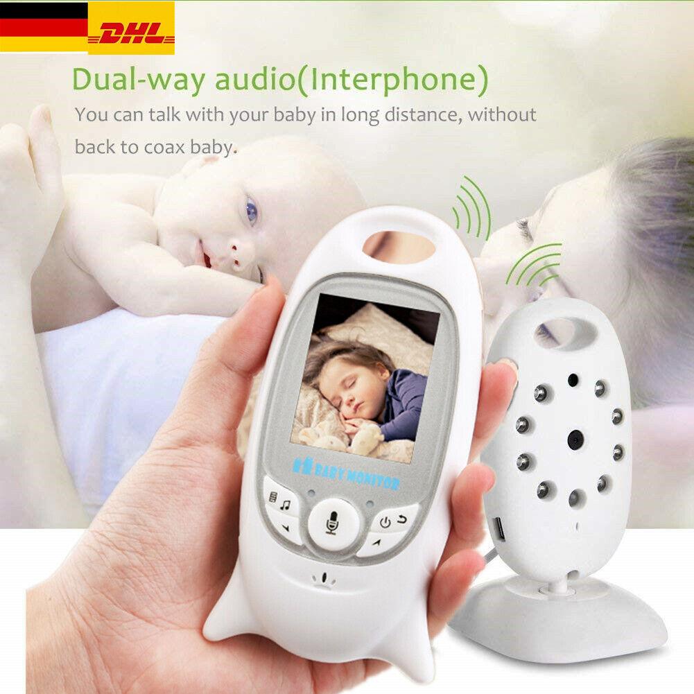 Digital Wireless Babyphone mit Kamera Farbe babyfone Video Monitor Nachtsicht DE