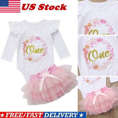 Outfits For Girl (1st Birthday Outfits for Baby Girl Princess First Birthday Outfits One Year)