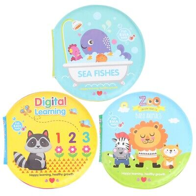 Bath Books Baby Education Toy Intelligence Development EVA F