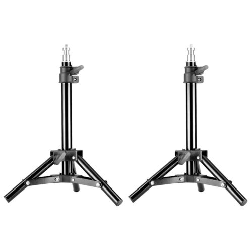 Neewer 2-pack Photo Studio 20 inches Aluminum Mini Table Top Backlight Stand