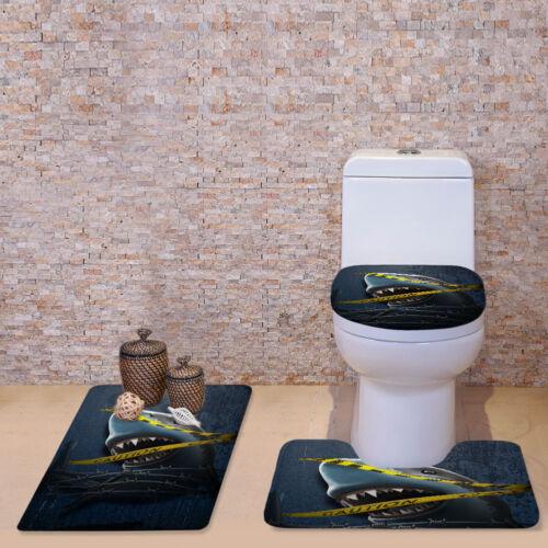 funny animal design batroom carpet rugs toilet