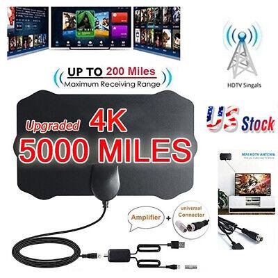 5000 Mile Shield HDTV Antenna 4K HD Indoor Digital TV Aerial