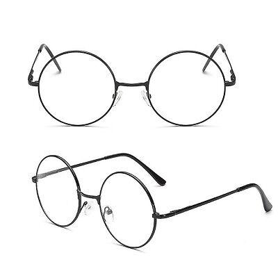 Korean Style Round Spring Hinges Eyeglass Frame Full Rim Glasses Able Clear (Korean Glasses Frames)