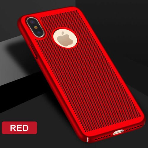 For iPhone XS Max XR Case Hard PC Bumper Shockproof Protective Cover Skin Shell