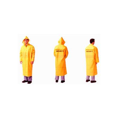 Security Guard Long Raincoat Rain Coat Poncho Jacket