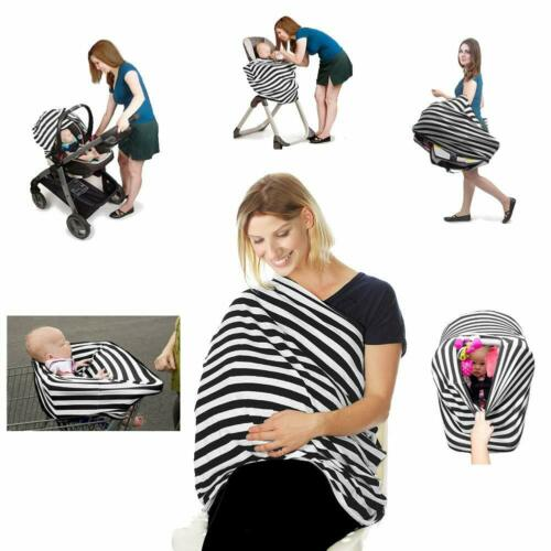 Nursing Cover Breastfeeding Scarf Baby Car Seat, Stroller Cover Extra Large, Car