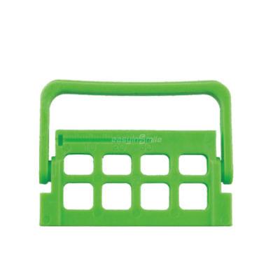8 Hole Green Endo Caddy Easyinsmile File Organizer Dental Block Box Autoclavable