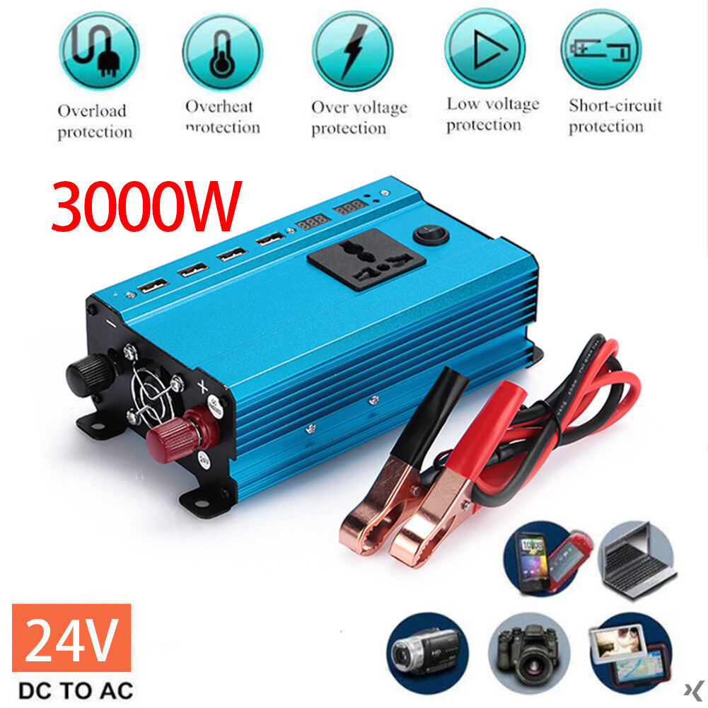2000w 4000w Modified Sine Wave Power Inverter 12v Dc 110v 220v Ac The Complete Circuit Will Be Powered By An 212v 24va Transformer 3peak 1000w Rated 500w 4there Is A Difference Between Brand And Of Each National Electrical