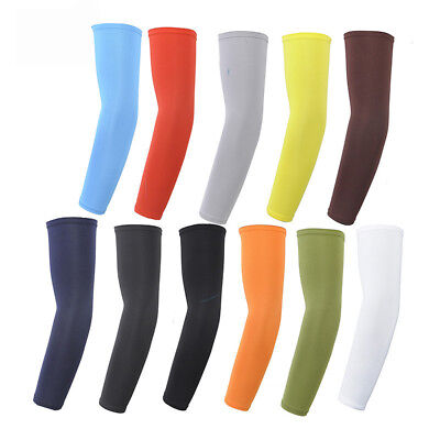 Unisex Outdoor Cooling Arm Sleeves Hand Cover UV Sun Protection Cycling Sports
