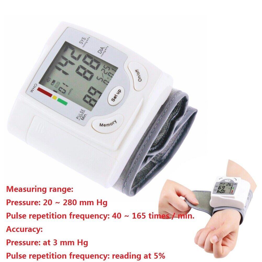Home Medical Digital Automatic Health Care Wrist Blood Press