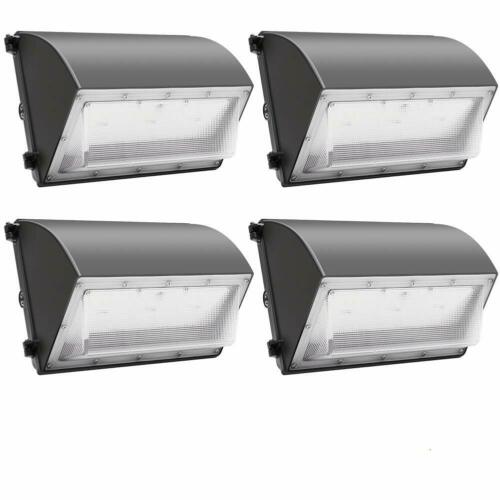 60W 120W Wall Pack LED Wall Lights 120V~277V Commercial Outdoor Light Fixture