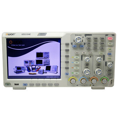 Owon Xds3104e Touch-screen Oscilloscope 100mhz 4 Ch Freei2cspirs232can Decode