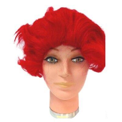 Ronald McDonald Wig  Red Clown McDonald's Wavy Costume Mens Halloween - Halloween Costume Red Wig