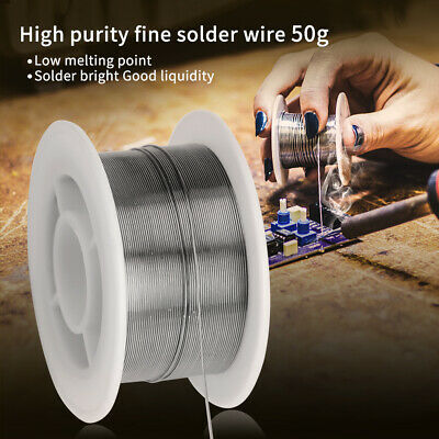 Tin Lead Rosin Core Solder Soldering Wire Sn60pb40 Flux 1.2 50g 0.3mm
