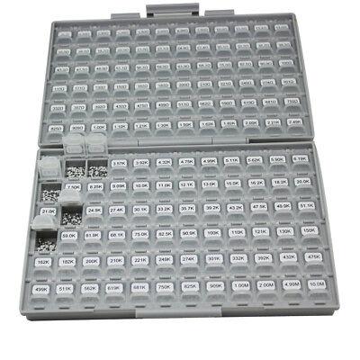 Aidetek Smd Smt 0805 1 Resistor Kit 0 10m Ohm 144v 100pcvalue 14400pcs Box-all