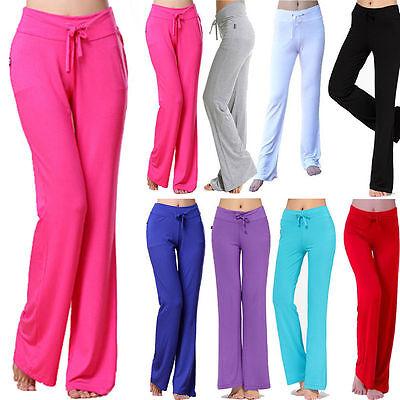 Yoga Workout Pants Women Exercise Clothing Gym Fitness Running Slack Baggy New
