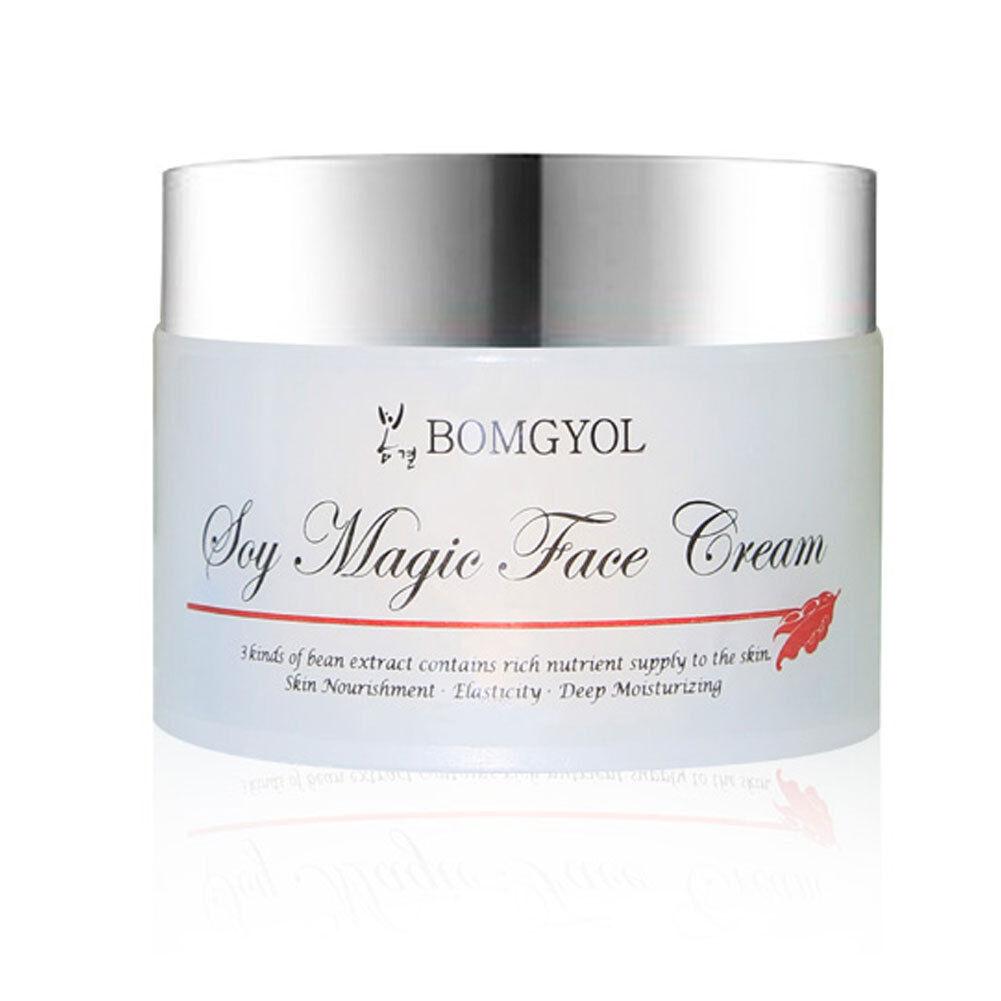 BOMGYOL Korean Beauty Cosmetics SOY MAGIC FACE CREAM Skin care Elasticity  /US