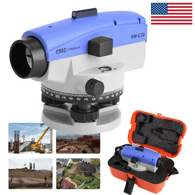 Precision Auto Level 32x Optical Transit Survey Autolevel Construction Monitor
