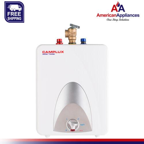 Camplux ME25 Mini Tank Electric Water Heater 2.5-Gallon,120 Volts