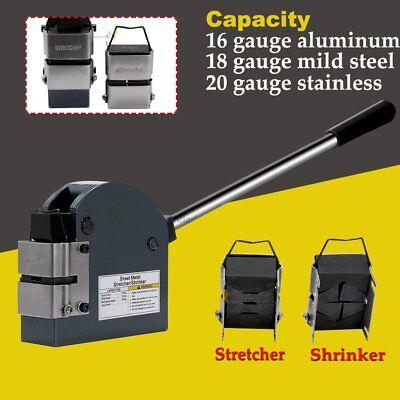 Sheet Metal Forming Contraction Expansion Tool Set Mild Steel Shrinker Stretcher