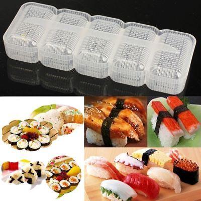 - Japan Non Stick Press Sushi Mold Nigiri Mould Rice Ball Maker Bento Tools