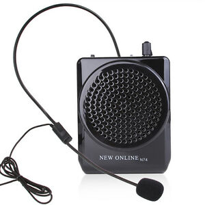 New Online Portable Voice Amplifier Teaching Guiding Speaker Headset Microphone