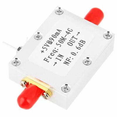 Amplifier LNA 50M-4GHz NF=0.6dB RF FM HF VHF / UHF Ham Radio 110dBm Low yn ()