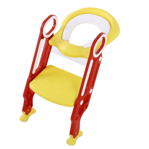 Baby Kids Potty Training Seat With Step Stool Ladder Child Toddler Toilet Chair - $30.39